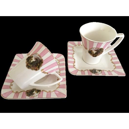 Комплект чаши за кафе МИГРА 023075, 0.100л., 2 броя