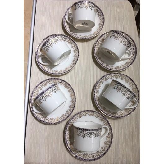 Комплект чаши за чай МИГРА 022926, 0.180л., 6 броя