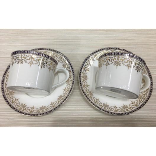 Комплект чаши за чай МИГРА 022927, 0.180л., 2 броя