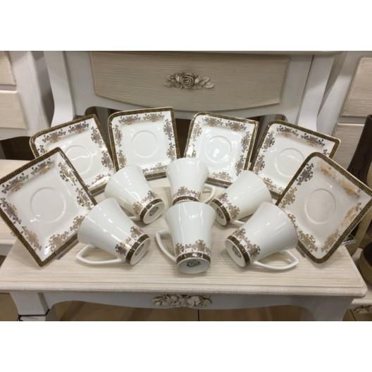 Комплект чаши за кафе МИГРА 022924, 0.100л., 6 броя